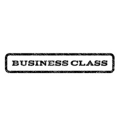 Business class watermark stamp vector