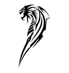 dragon 2 vector image