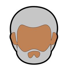 man face icon vector image