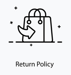 Return policy vector