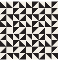 Seamless Black and White Geometric Square vector