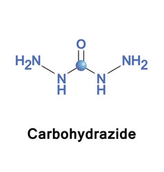 Carbohydrazide chemical compound vector
