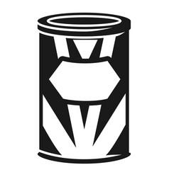 Condensed milk icon simple style vector