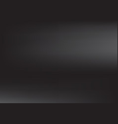 Dark gray black gradient blur background vector