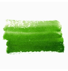Green paint abstract background vector image