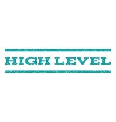 High Level Watermark Stamp vector