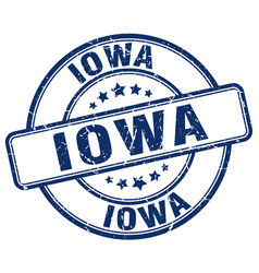 Iowa stamp vector