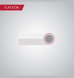 isolated plastic flat icon drain element vector image
