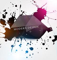 Modern Paint Splash Background vector