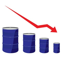Oil chart vector image