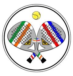 Paddle symbol vector