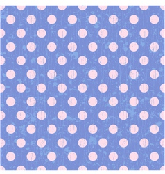 seamless circle dots background vector image