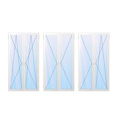 type of window vector image