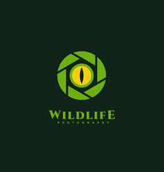 Wildlife photography vector
