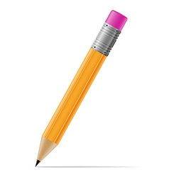 sharpened pencil 01 vector image
