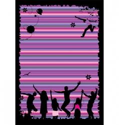 cartoon party vector image vector image