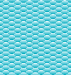 abstract blue wave art line seamless pattern vector image