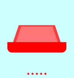 Carpet set it is color icon vector