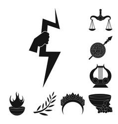 Design religion and myths logo vector