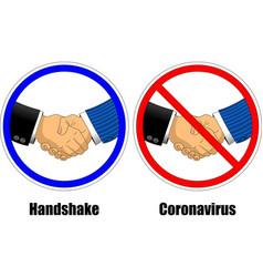 Handshake coronavirus vector