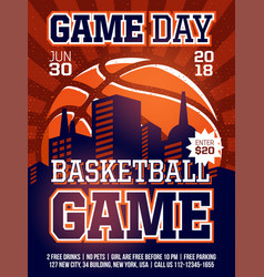 modern professional sports design poster with vector image