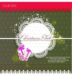 Paper bubbles for speech Christmas Sale vector image