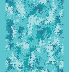 seamless digital camouflage pattern vector image
