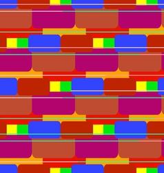 Colored bricks vector image vector image