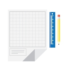 Technical drawing icon vector image