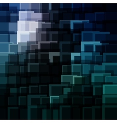 Abstract technology background with bright flare vector image vector image
