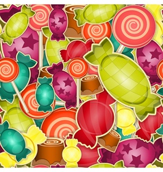 sweet candy vector image vector image