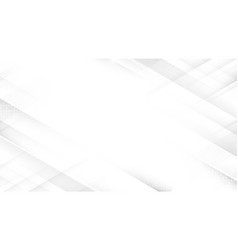 Abstract white square shape with futuristic vector