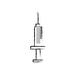 Figure syringe medical tool to treatment injection vector