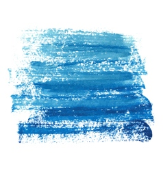 Marine blue paint abstraction vector image