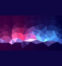 multicolored low poly background magic abstract vector image