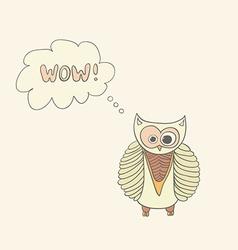 OwlWow vector image