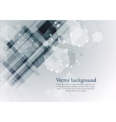 Modern hi-tech backdrop template vector image vector image