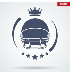 American Football Club Badge and Label vector image vector image