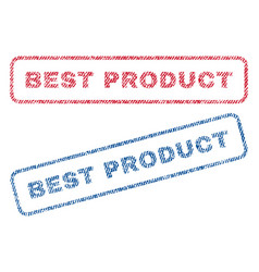 Best product textile stamps vector