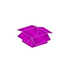 box Flat design style vector image