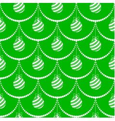 Christmas festive seamless pattern vector