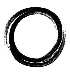 Circle crayon vector