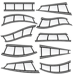 film tape set roll vector image