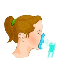 Inhalation dosage for adults and children vector