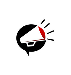 megaphone social vector image