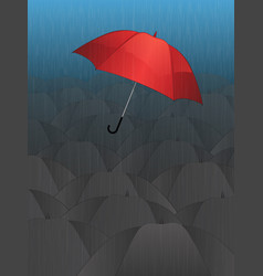 stand out and be free vector image