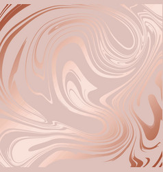 Texture of marble with imitation of rose gold vector