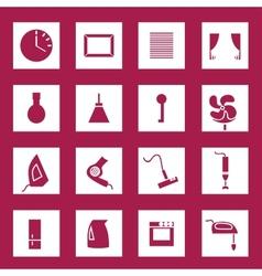 Appliances set vector