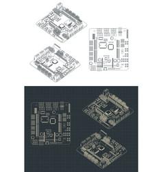 Arduino romeo v2 blueprints vector