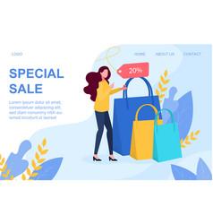 special sale vector image